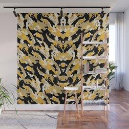 Metallic Camo - Stylish Camouflage Gold Pattern Wall Mural
