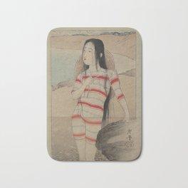 Sea Bathing Beauty by Terasaki Kogyo Bath Mat