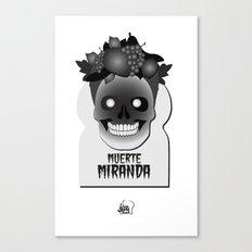 Muerte Miranda Canvas Print