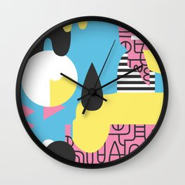 Flumesia Wall Clock