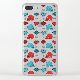 Love is Sweet Torture Clear iPhone Case