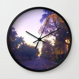 5th Avenue Sunrise Wall Clock