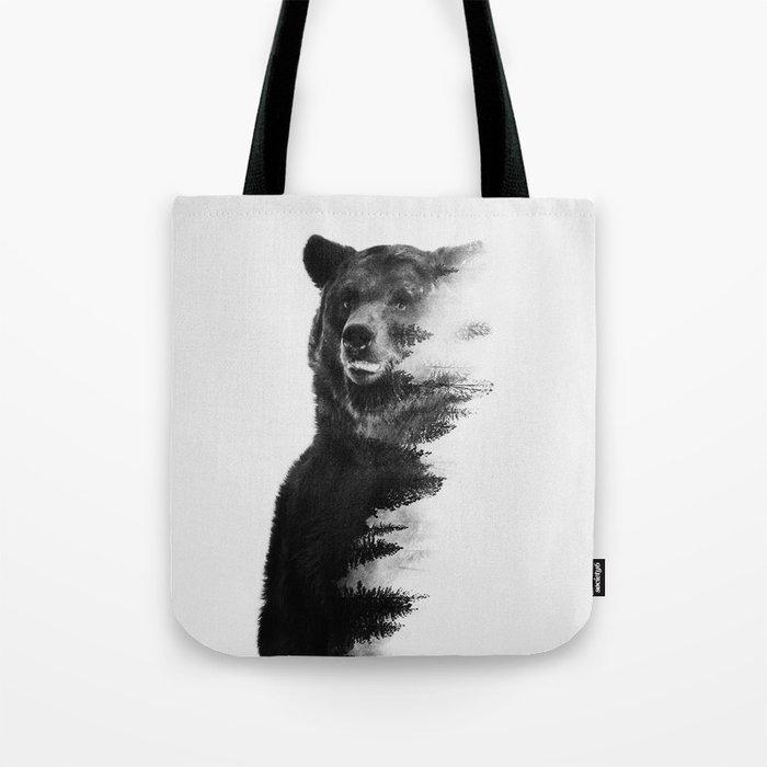 Observing Bear Tote Bag