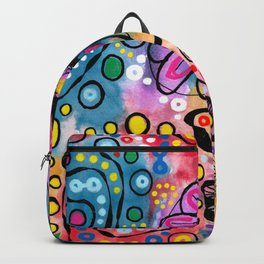 """Tie-Dye Wonderland"" Backpack"