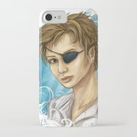 pen iPhone & iPod Cases featuring Pen by laya rose