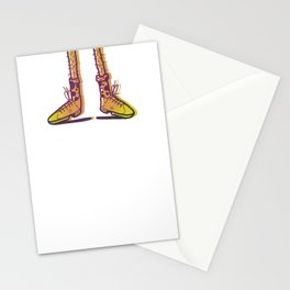 New Shoes! Forgot Trousers. Stationery Cards