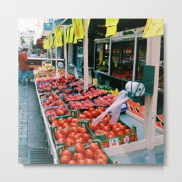 French Markets Metal Print