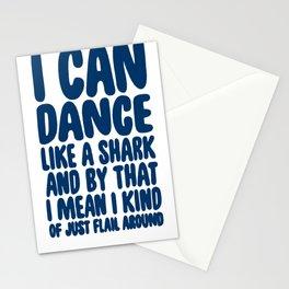 DANCE LIKE A SHARK T-SHIRT Stationery Cards