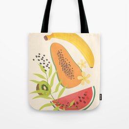 Tropical Fruits II Tote Bag