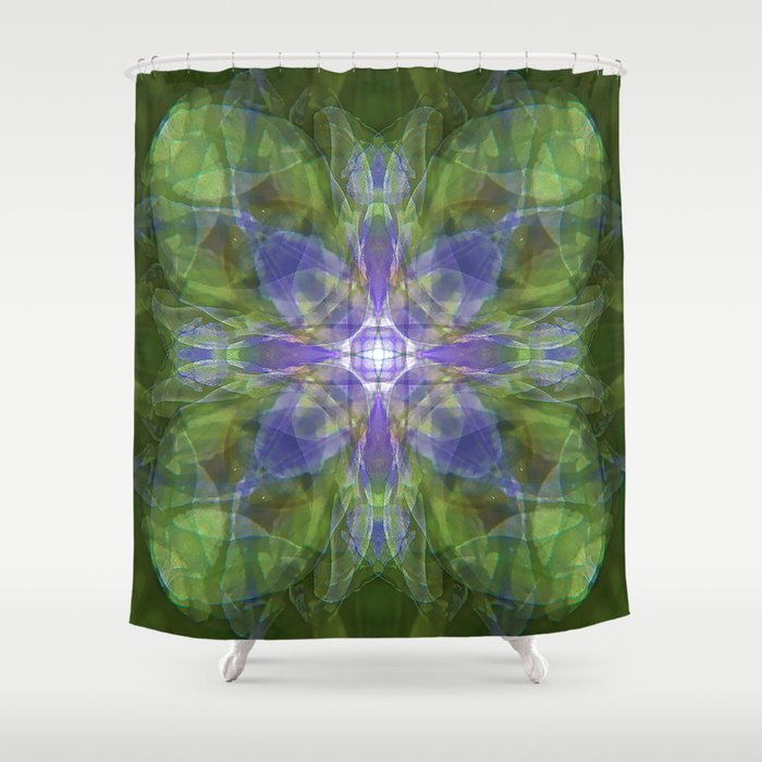 Iris from the Lover Shower Curtain