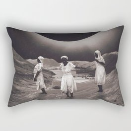 'Ecliptic Dances' Rectangular Pillow