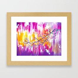 Sakura in the Spring Framed Art Print