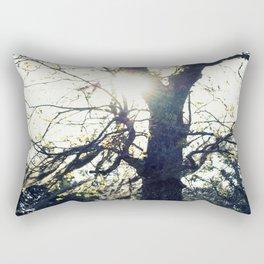 Golden Moss Rectangular Pillow