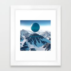 Alps Framed Art Print