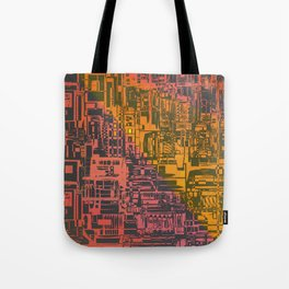 Where Are YOU / Density Series Tote Bag