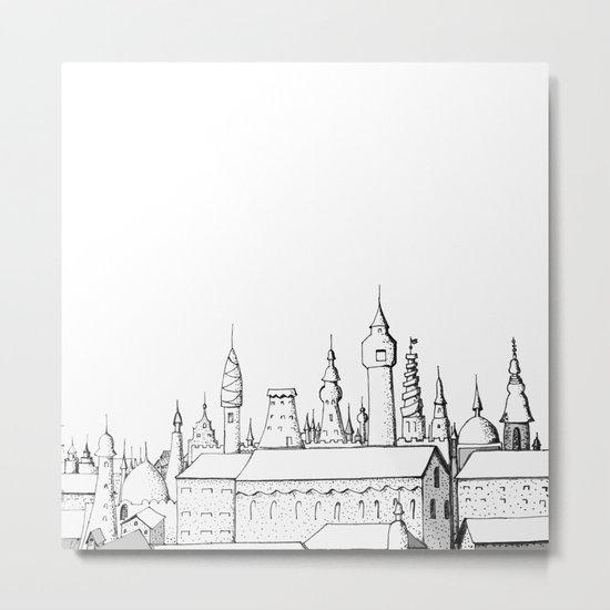 fabulous city Metal Print
