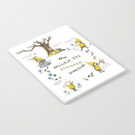Mental Elf Recovery Journal Notebook