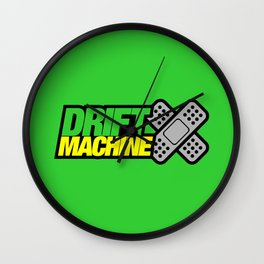 Drift Machine v3 HQvector Wall Clock