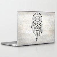 dreamcatcher Laptop & iPad Skins featuring Dreamcatcher by Nora Bisi