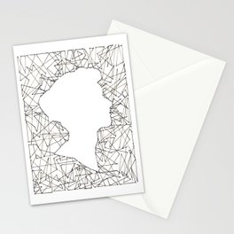 Shards 1 Stationery Cards