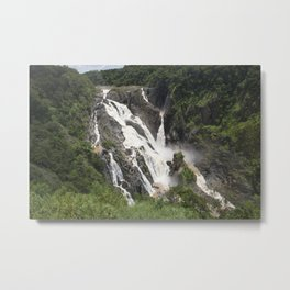 Barron Falls Metal Print