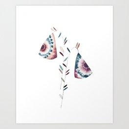 Ultra Violets Art Print