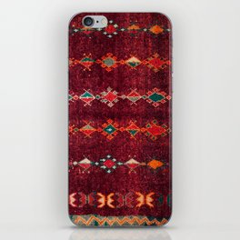 -A8- Colored Traditional Moroccan Carpet Artwork. iPhone Skin