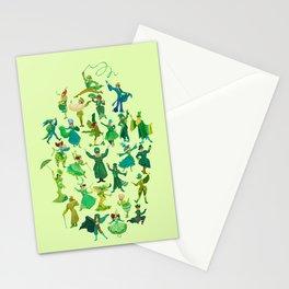 positively emerald Stationery Cards