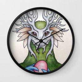 The Egg Thief Wall Clock