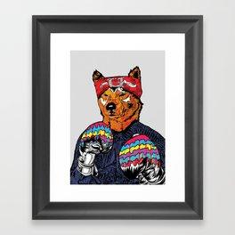 Shiba - The Hustler Framed Art Print