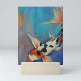 Sanke Butterfly Koi Mini Art Print