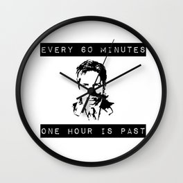 FOX MULDER QUOTE Wall Clock