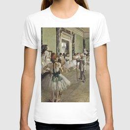 Edgar Degas - The Ballet Class T-shirt