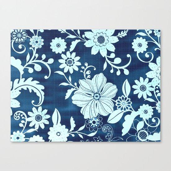 Flower time Canvas Print