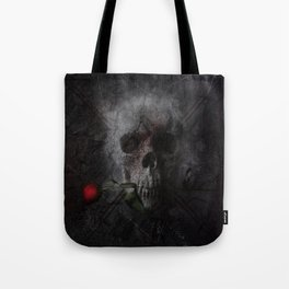 Skull with Rose Tote Bag