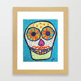 Sugar Skull #2 Framed Art Print
