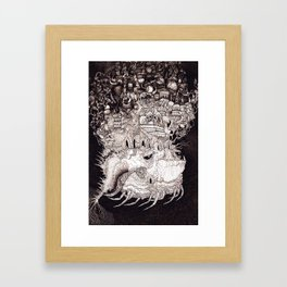 Astral Airlines Framed Art Print