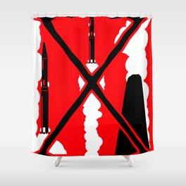 X-Men First Class Shower Curtain
