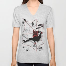 Ultimate Spider-man Miles Morales Unisex V-Neck