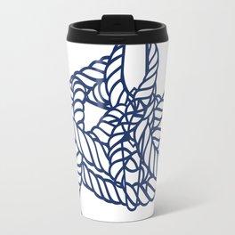 Knotical (WHITE) Travel Mug