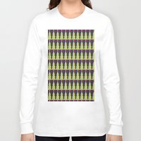 christmas tree Long Sleeve T-shirts featuring CHRISTMAS TREE by aztosaha