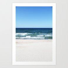 sea calling Art Print