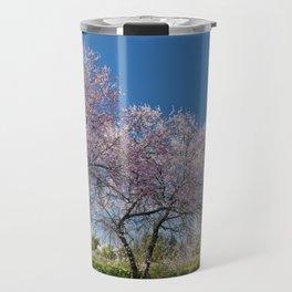Algarve almond blossom Travel Mug