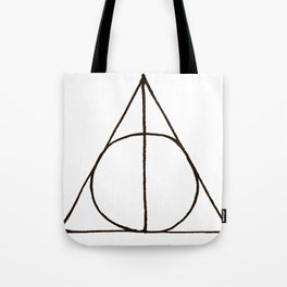 Deathly Hallows Sign Tote Bag