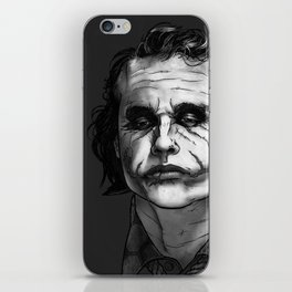 Now I'm Always Smiling // The Dark Knight iPhone Skin