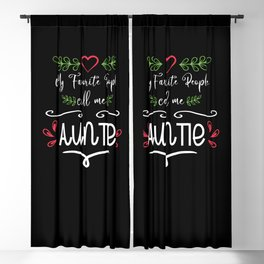 Call Me Aunti Aunt Family Proud Aunty Gifts Blackout Curtain