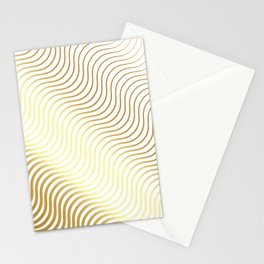 Whiskers Gold #634 Stationery Cards