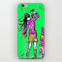 girl power iPhone & iPod Skins featuring Girl Power by sladja