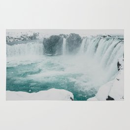 Goðafoss | Edge of the Arctic Rug