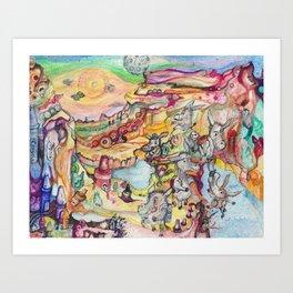 Grand Cranyon Art Print